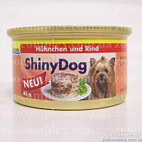 Gimpet (Джимпет) ShinnyDOG консерва для собак 2x85 г (курица+говядина).