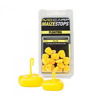 Maize Stops Floating  - Long Yellow стопоры Avid Carp