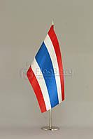 Флажок Тайланда 13,5*25 см., плотный атлас