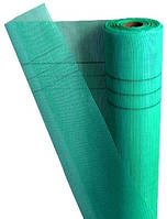 Сетка КТ фасадная X-mesh 125 г/м2 5х5 мм 1х50 м зеленая (68106001)