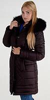 Пуховик женский зимний м-133