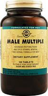 Мультивитамины для мужчин Солгар Male Multiple 120 таблеток. Сделано в США., фото 1