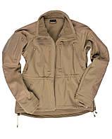 Куртка тактическая Soft Shell (Coyote) Sturm Mil-Tec