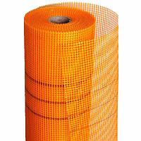 Сетка КТ фасадная X-mesh 160 г/м2 5х5 мм 1х50 м оранжевая (68106003)