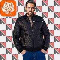 Мужская осенняя куртка - 136 черный