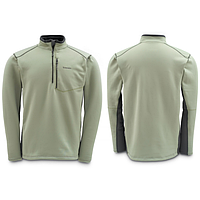 Guide Fleece Top Sterling/Coal L блуза Simms