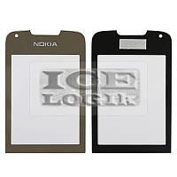Стекло корпуса для мобильного телефона Nokia 8800 Arte, золотистое