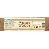 SUPER WOODY прессованная натуральная подстилка для грызунов 8л