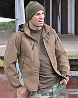 Куртка тактическая Softshell PCU (Coyote) Sturm Mil-Tec