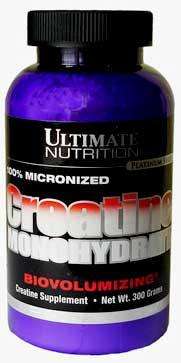 Креатин моногидрат Ultimate Nutrition (300 грамм)