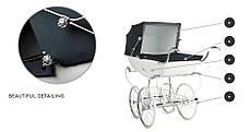 Эксклюзивная детская коляска Silver Cross Balmoral, фото 3