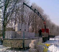 Газобетон, перевозка, погрузка, разгрузка, транспортировка, Харьков