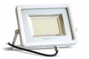 LED прожектор VIDEX 50W 5000K 220V White, фото 2