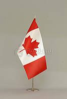 Флажок Канады 13,5*25 см., плотный атлас