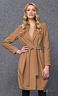 Женское теплое пальто цвета кэмел. Модель Ever Zaps. Коллекция осень-зима 2016-2017.