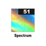 Термопленка голографическая Siser Spectrum ( спектрум серебро металлизированое с эффектом радуги)