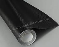 Пленка под карбон 3D черная CF air channel (мелкая текстура)