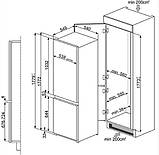 Встраиваемый холодильник SMEG UNIVERSAL C7280FP, фото 2
