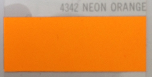 Термопленка флекс Poli-Tape Poli-Flex Perform 4342 Neon Orange ( оранжевый неон )