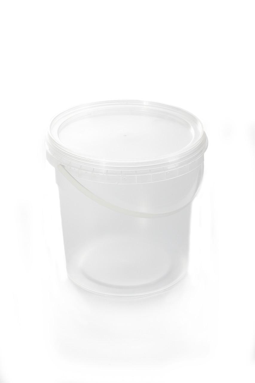 Відро пластикове харчове 1 літр