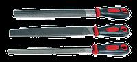 Набор напильников слесарных 200мм (3шт.) TECHNICS
