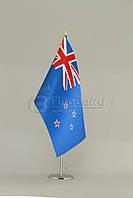 Флажок Новой Зеландии 13,5*25 см., плотный атлас