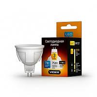 LED лампа VIDEX MR16 3W GU5.3 4100K 220V