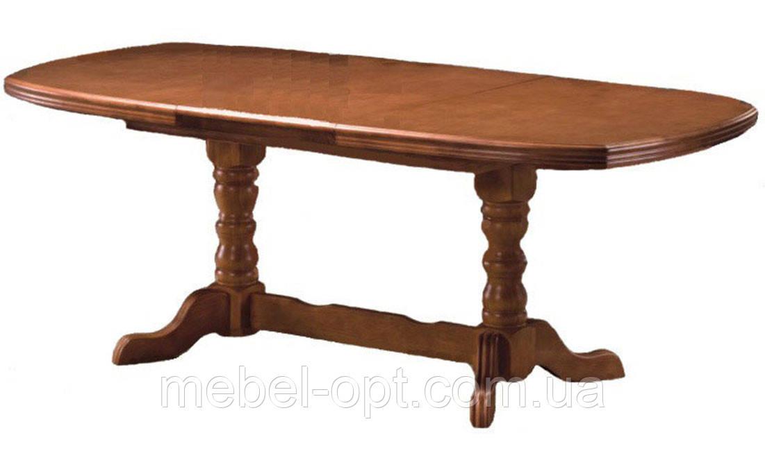 Раздвижной кухонный стол, 3 вставки по 50см, цвет чайный дуб. Стол раскладной для кухни