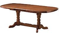 Раздвижной кухонный стол, 3 вставки по 50см, цвет чайный дуб. Стол раскладной для кухни, фото 1