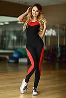 Спортивный комбинезон Sexy Black with red