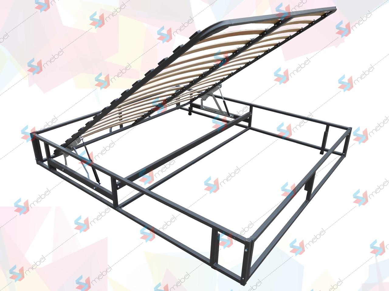 Каркас кровати с подъемным механизмом(с фиксатором) и основанием 2000х2000 мм - SVmebel в Мелитополе