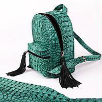 Крокодиловый рюкзак, фото 1