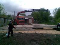 Дорожные плиты перевозка, погрузка, разгрузка, транспортировка, Харьков