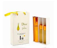 Женский мини парфюм Christian Dior J'adore (Кристиан Диор Жадор) 3*15мл