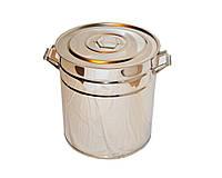 Емкость, бак, кастрюля из нержавеющей стали на 30 литров
