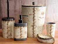 Комплект в ванную Irya - Savana кремовый (5 предметов)
