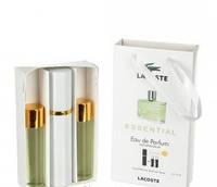 Мужской мини парфюм Lacoste Essential (Лакост Эссеншиал) 3*15мл