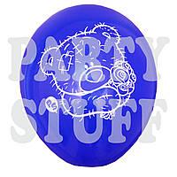 """Воздушные шары ассорти пастель Мишка Тедди 12""""(30 см), 100 шт"""