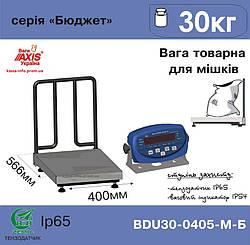 Весы товарные для взвешивания мешков Аxis BDU30-0405-М