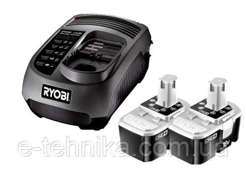 Аккумулятор и зарядное устройство RYOBI BCP1817/2SM