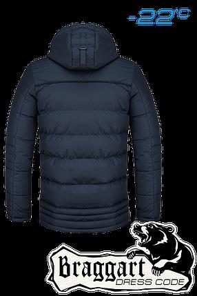 Мужская темно-синяя зимняя куртка Braggart арт. 2919, фото 2