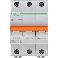 Автоматический выключатель ВА63 3П 10A C Schneider Electric