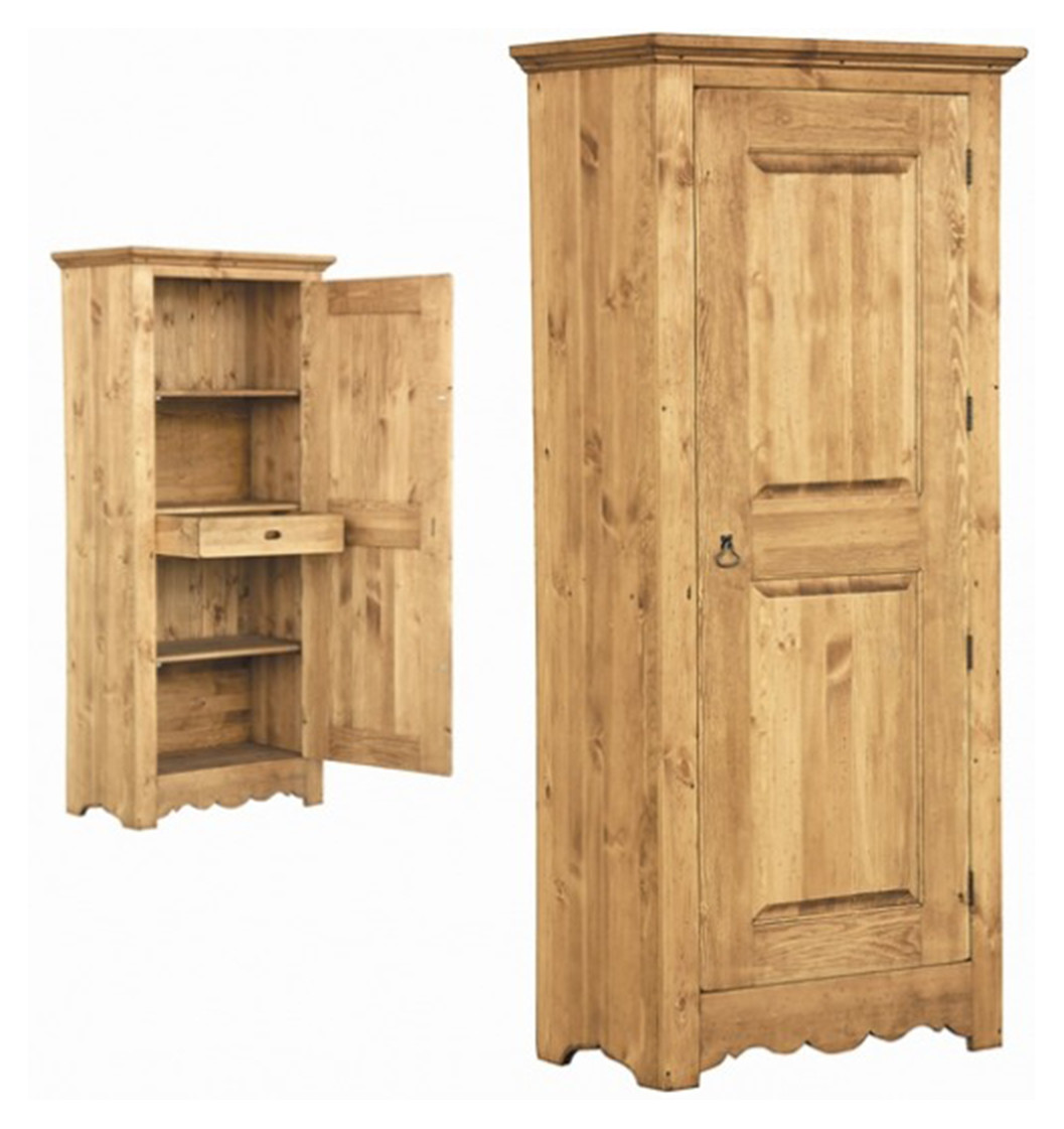 Шкаф из массива дерева 035
