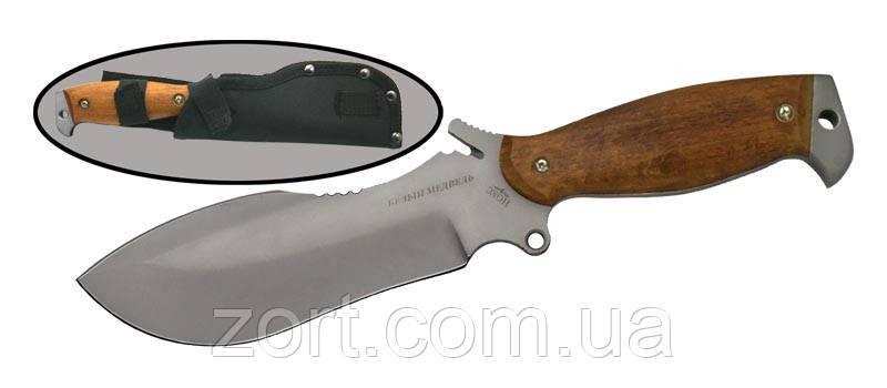 Нож с фиксированным клинком Белый Медведь