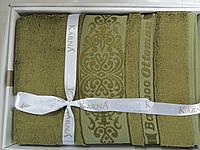 Набор полотенец подарочный бамбук