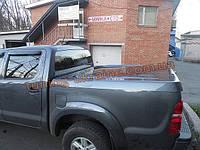 Пластиковая крышка для Toyota Hilux  Aeroklas Twin ABS Sheet Deck Cover AVIATOR с электромотором