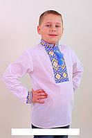 Вышитая рубашка с  украинской символикой