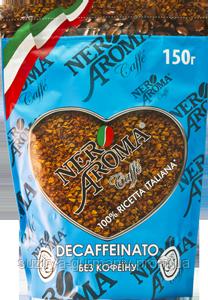 Растворимый кофе Nero Aroma без кофеина