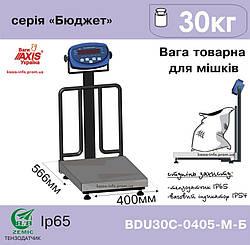 Весы товарные для взвешивания мешков Аxis BDU30С-0405-М
