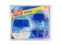 Гелевый блок для унитаза W5 WC-Stein flüssig Ocean Breeze